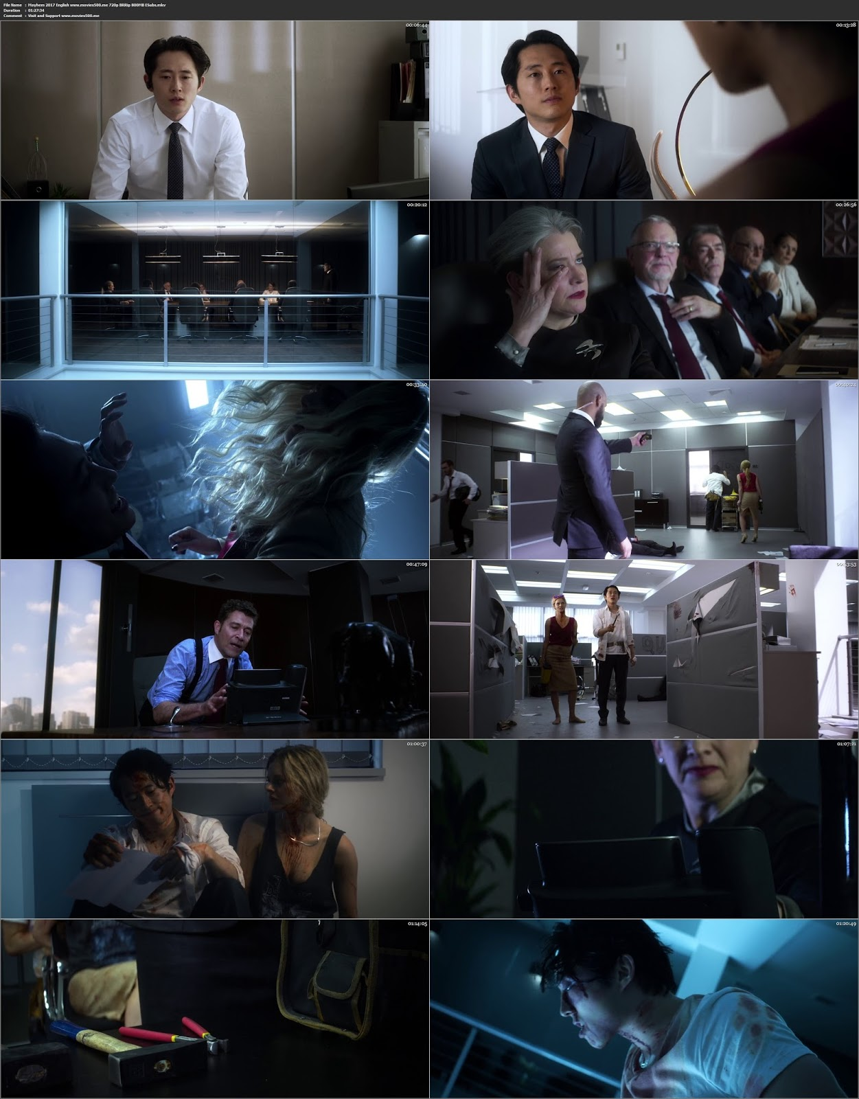 Mayhem 2017 Hollywood 300MB Movie BluRay 480p ESubs
