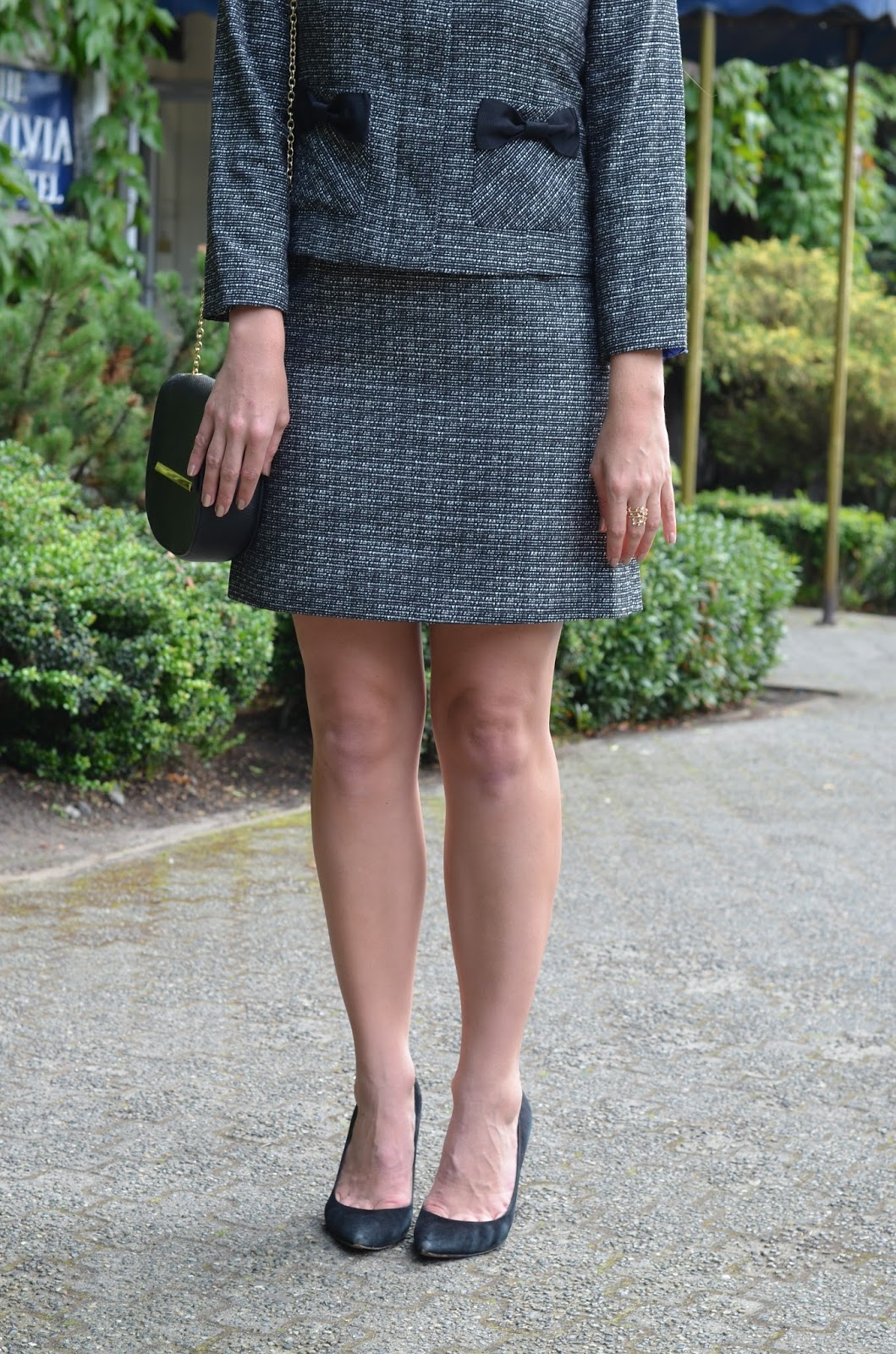 womens tweed suit set