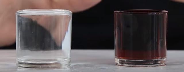 agua, vino, vasos