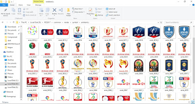 PES 2017 Update Badges and Competion Emblem