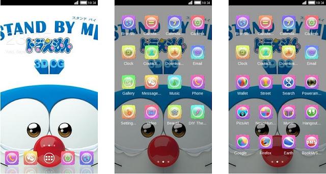 Tema Doraemon Android Terbaru Stand By Me