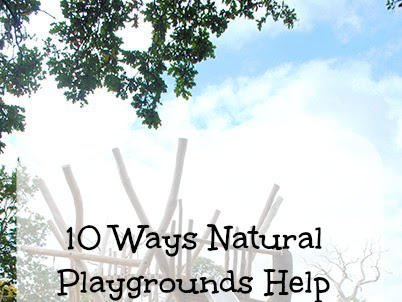 How Natural Playgrounds Help Children's Development
