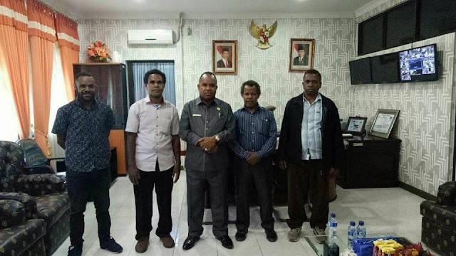 Memberantas Miras dan Narkoba di Jayawijaya, Solidaritas Anti Miras dan Narkoba Bertemu Plt. Bupati