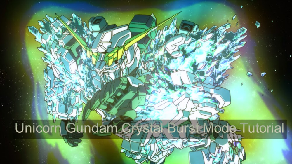 Super Glue For Metal >> Tutorial: Unicorn Gundam Crystal Burst Mode - Gundam Kits Collection News and Reviews