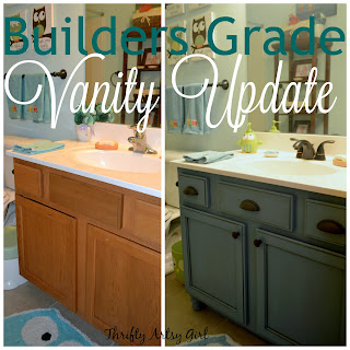 http://thriftyartsygirl.blogspot.com/2015/10/builders-grade-bathroom-vanity-and.html