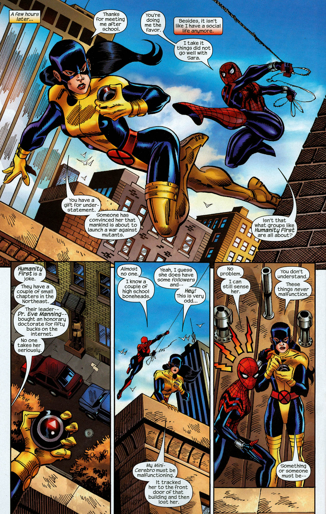 Read online Amazing Spider-Girl comic -  Issue #22 - 22