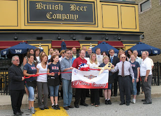 British Beer Company - ribbon cutting
