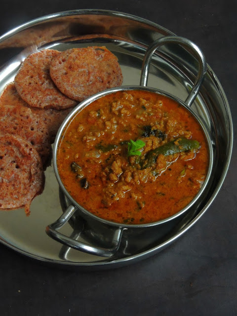 Mutton Kheema Masala, Kothu kari Kuzhambu