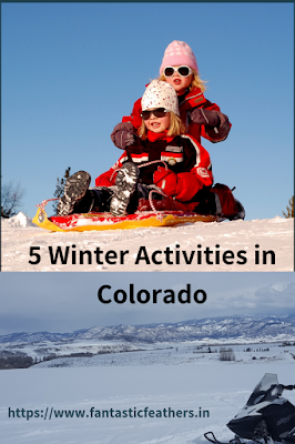 winter activities in Colorado