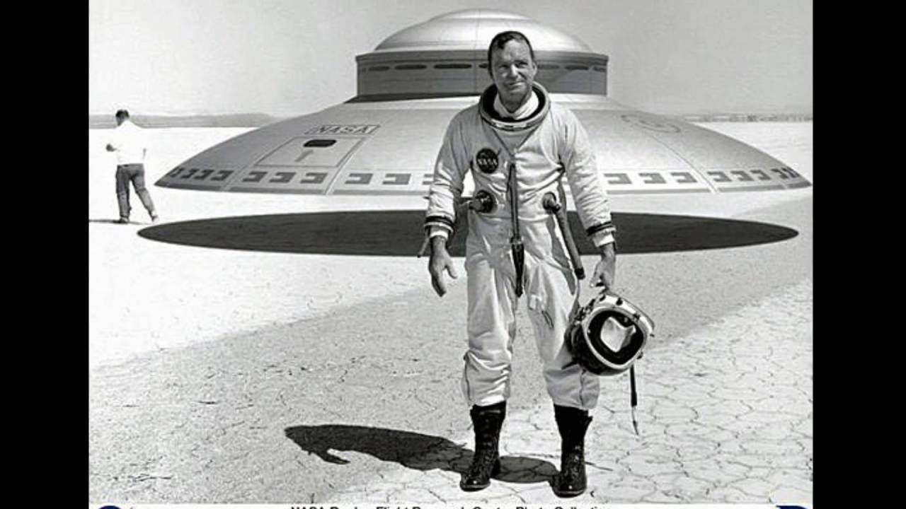 NASA testando disco voador