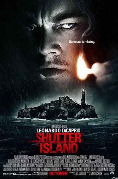 Poster Of Shutter Island 2010 Hindi 720p BRRip Dual Audio Full Movie Download
