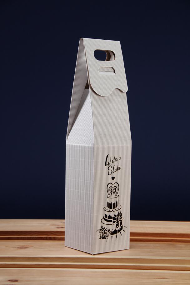 Pudełko na wino ślubne PS5