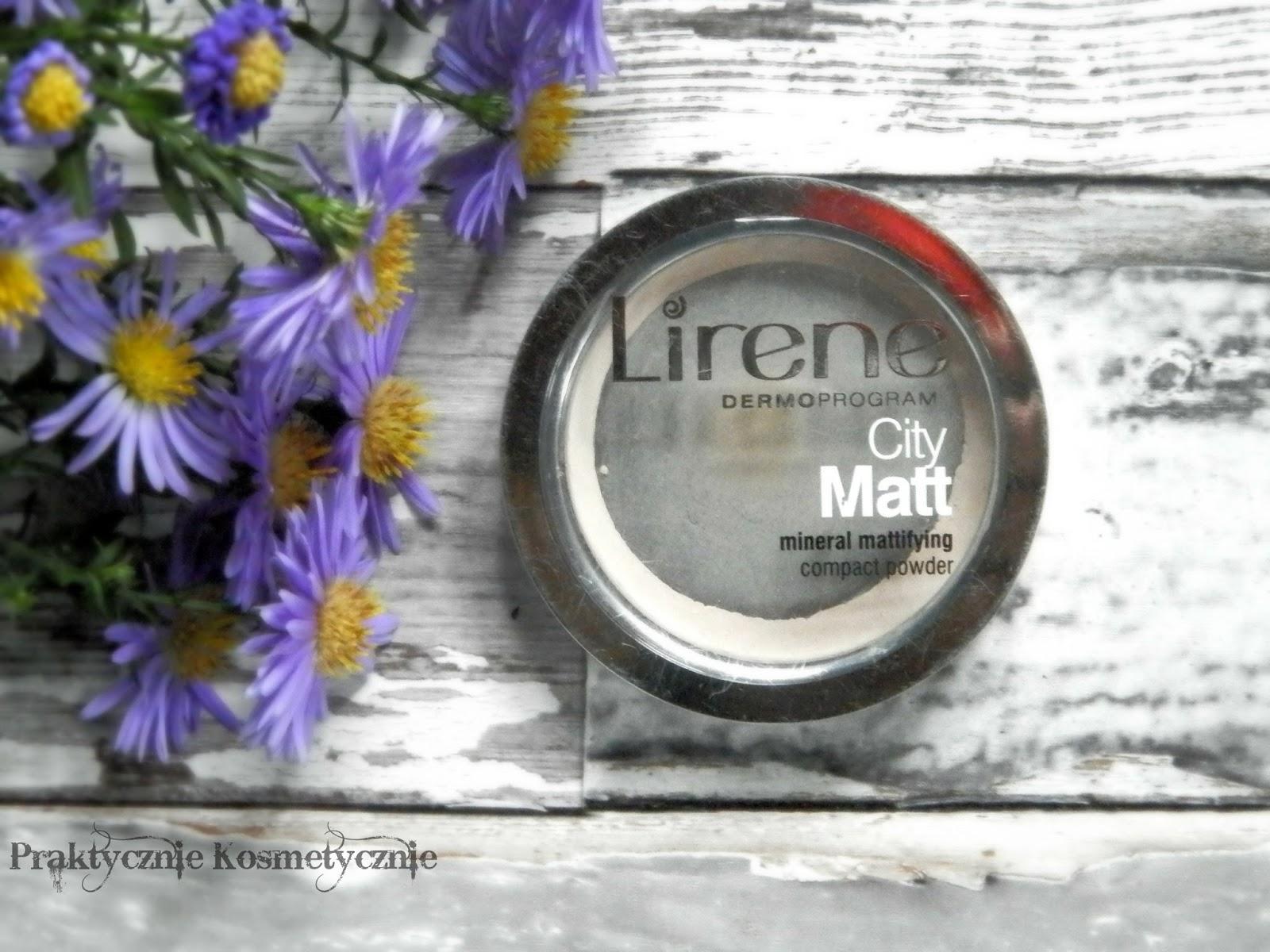 Lirene City Matt - mineralny puder matujący.