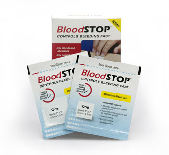 Hey Lori: BLOODSTOP – A NECESSITY FOR EVERY FIRST AID KIT