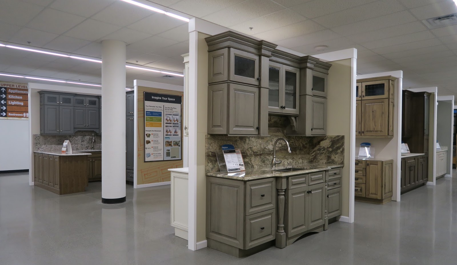 the Annandale Blog: Expanded Home Depot now open on Modern:8-Rtxafges8= Model Kitchen  id=81519