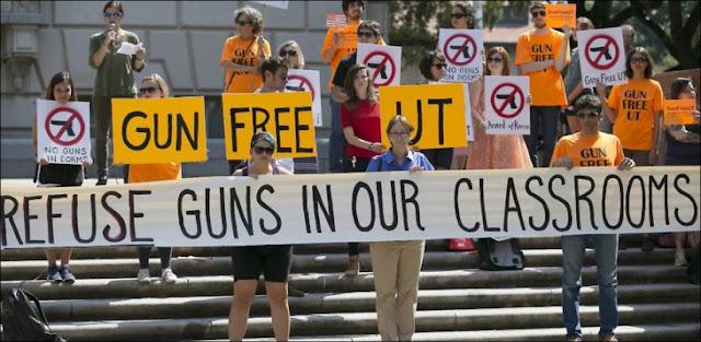 La estupidez humana… Universidad de Texas aprueba que alumnos ingresen armados