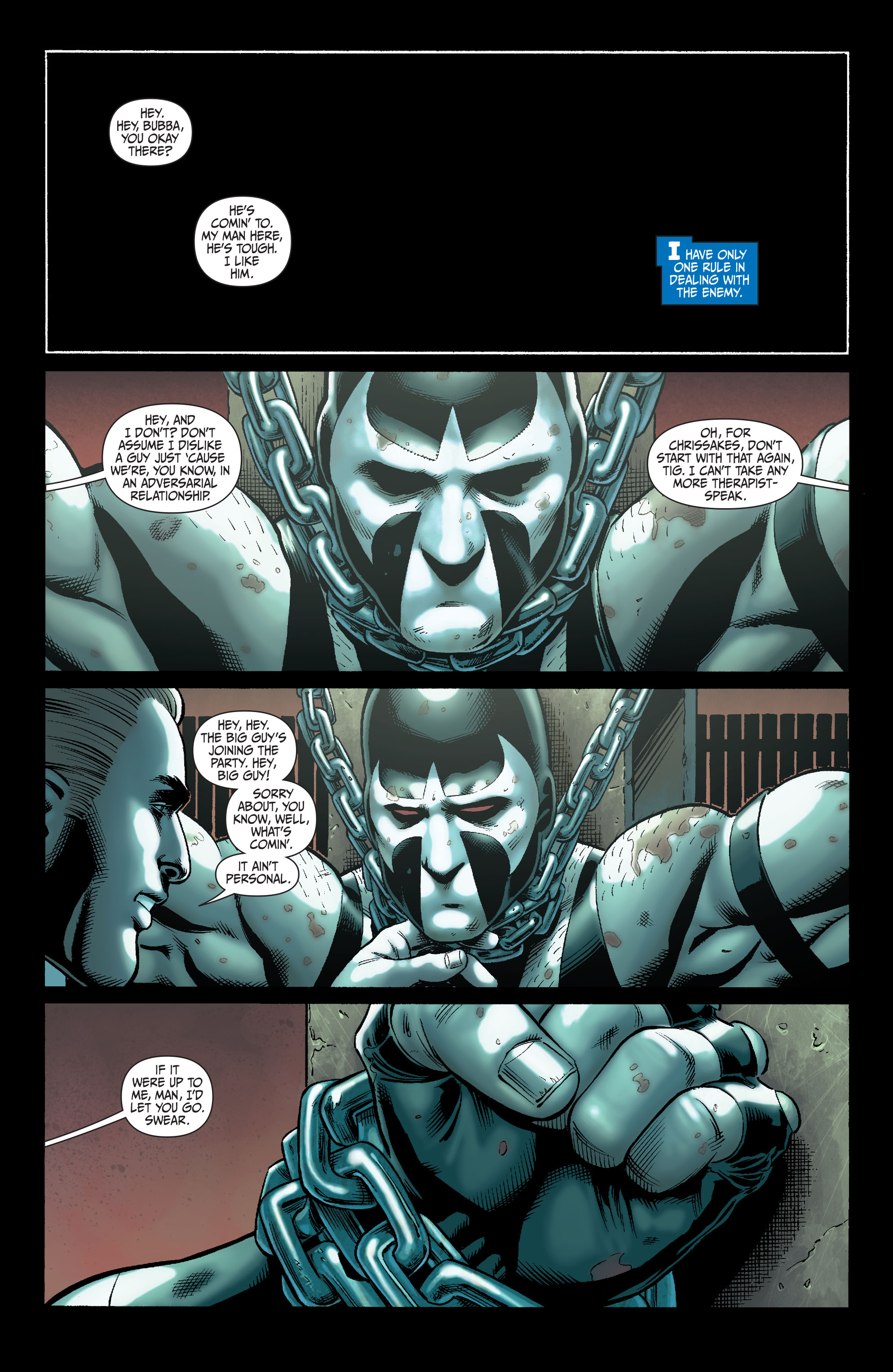 Read online Secret Six (2008) comic -  Issue #5 - 2
