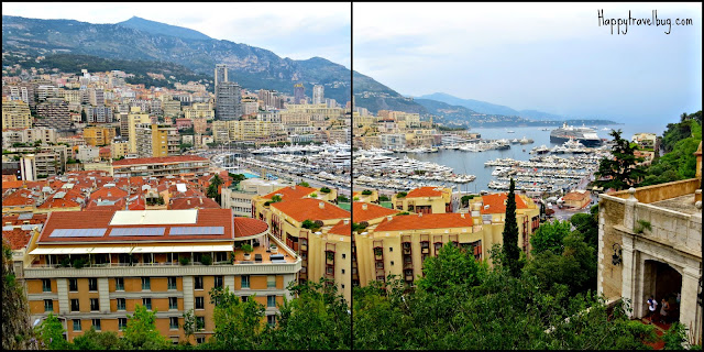 View of Monaco from the Palace