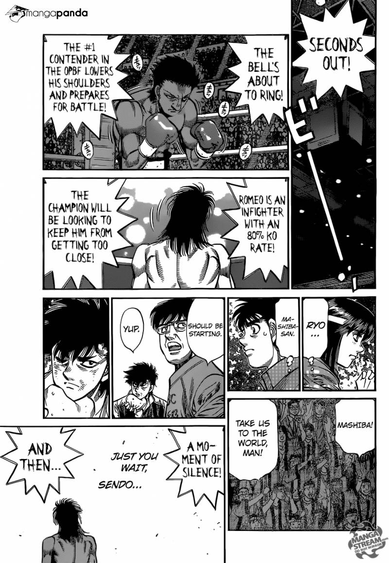 Hajime no Ippo - Chapter 1082