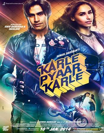 Poster Of Karle Pyaar Karle 2014 Hindi 720p DVDRip Free Download Watch Online