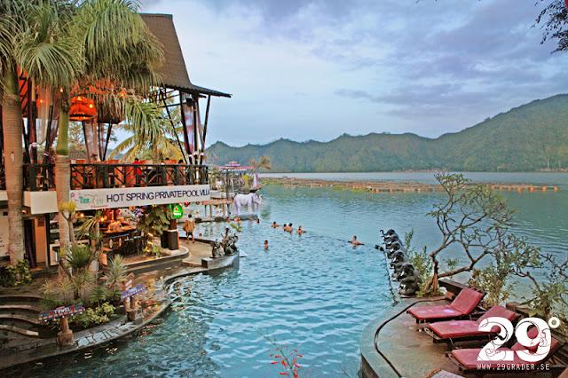 Natural hot springs - som Willy Wonka's magiska värld