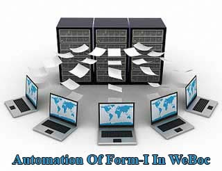 Automation Of Form-I In WeBoc