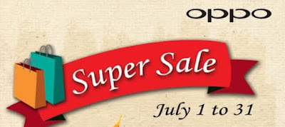 OPPO Philippines Super Sale, Happening Now Until July 31, 2015