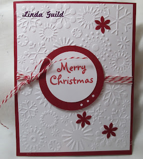 cards done today using embossing folders punches and clip art images - Fancy Christmas Cards