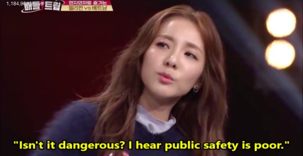 Sandara Park tells South Koreans Philippines is safe