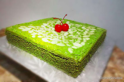 RESEP BROWNIES GREEN TEA PANGGANG JAMAN NOW