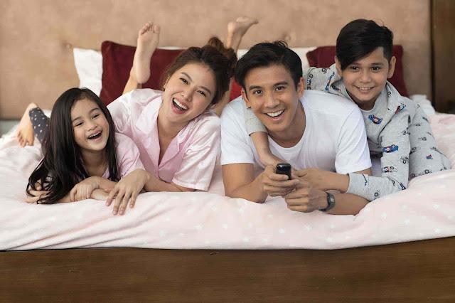 A family enjoying fast internet and seamless entertainment via PLDT Home Fibr