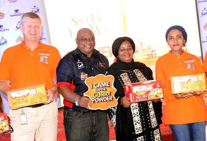 NEWS: The Launching of the New Dangote Stew mix & Curry powder, in Owerri Imo State