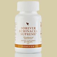 Хранителна добавка с ехинацея /Forever Echinacea Supreme/