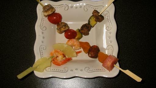 Assortment of mini appetizers