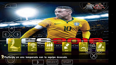 PES 2016-2017 MX Fuxion PSP ISO Patch By Jose