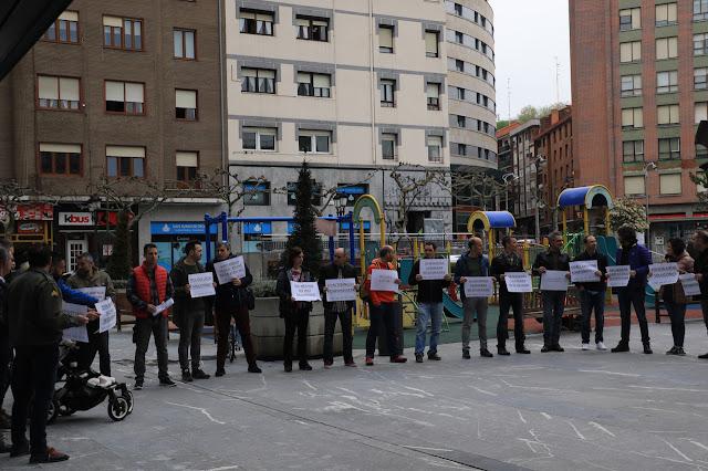 protesta de policías locales