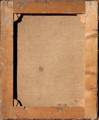 arte - dipinto ottocentesco - annunci