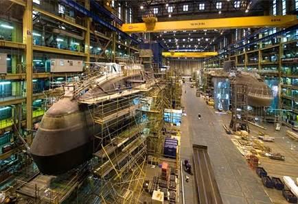 Gambar Pabrik-Kapal-Selam-Daewoo-Shipbuilding-and-Marine-Engineering-DSME-dc