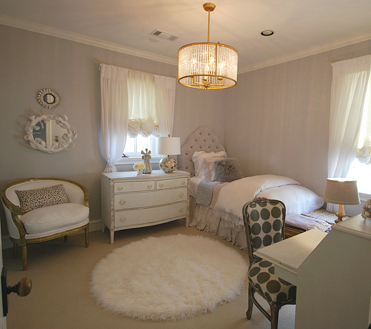 Interior Design Elegant Pink White Gray Baby Girl Room: Mix And Chic: Cool Designer Alert- Sally Wheat