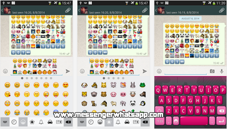 Divertidos emoticones con Emoji Keyboard for WhatsApp