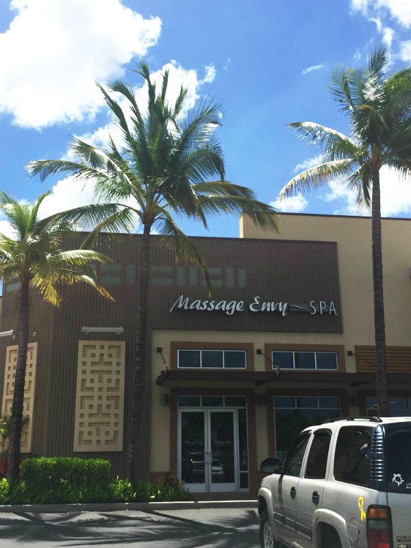 murad facial massage, massage envy spa hawaii, massage envy spa kapolei, review