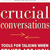 Crucial Conversations: Tools for Talking When Stakes Are High PDF