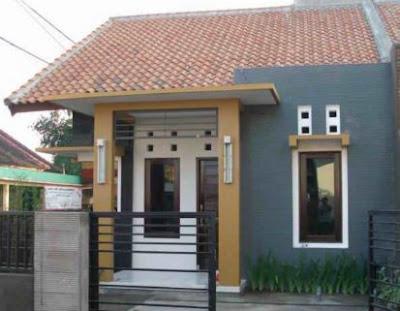 model atap rumah type 36