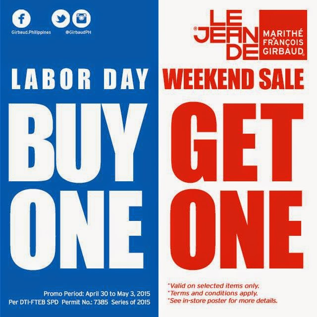 Labor Day Weekend Sale: Girbaud Labor Day Weekend Sale April 30 To May 3 2015