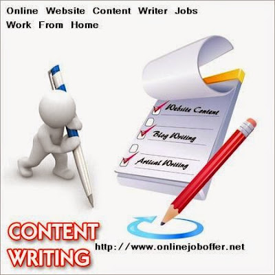 Online Website Content Writer Jobs Work From Home