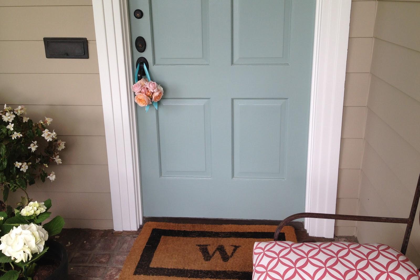 Sherri cassara designs a great front door - Blue front door colors ...