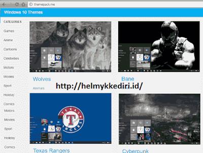 tema windows 10 gratis dan lengkapc