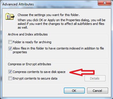 Cara kompres file folder menggunakan NTFS compression tahap 2