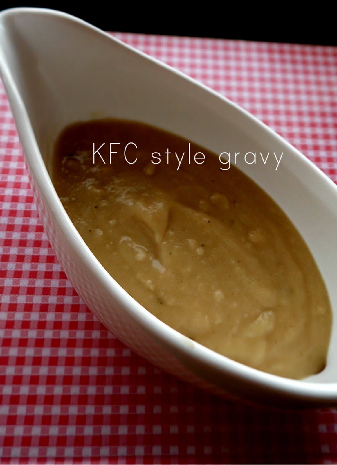 Cooking in Hungary: KFC style gravy