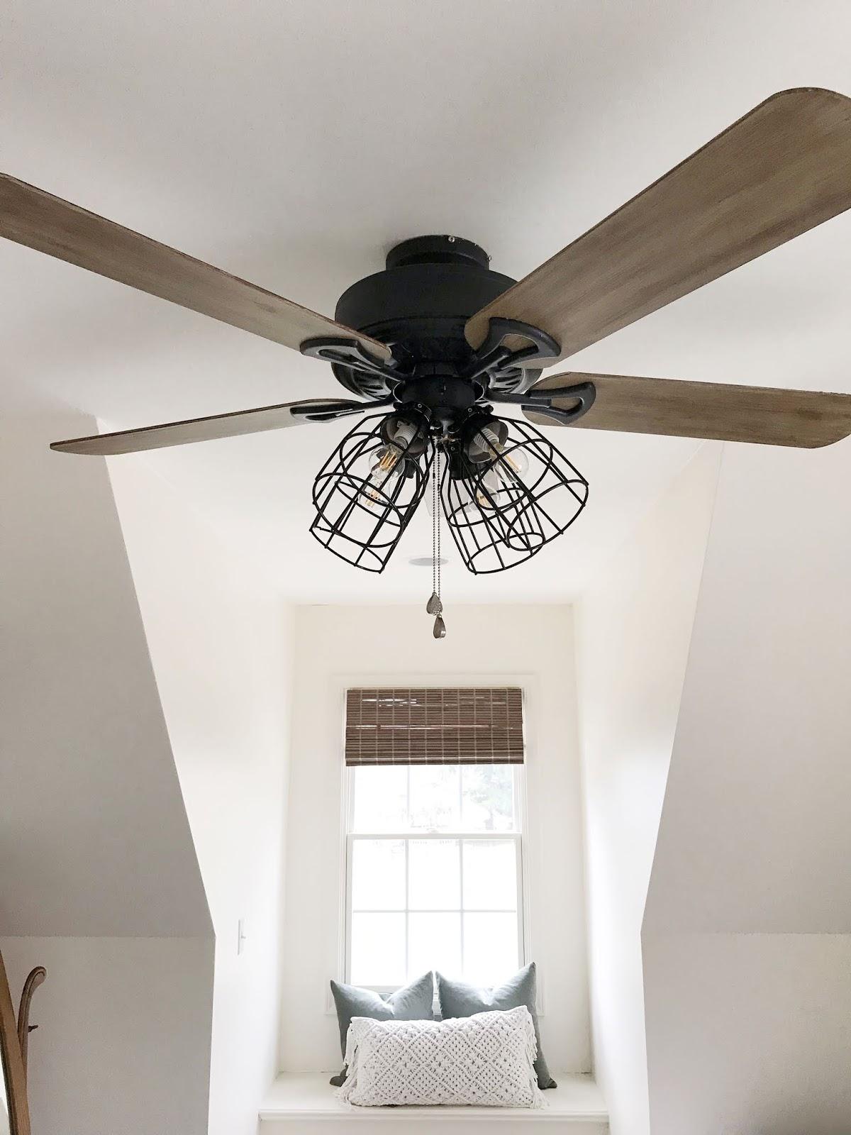 Diy Farmhouse Ceiling Fan Update